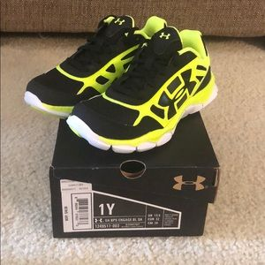Brand new UA kids sneakers
